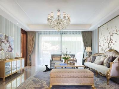 法式风格-280平米六居室装修样板间