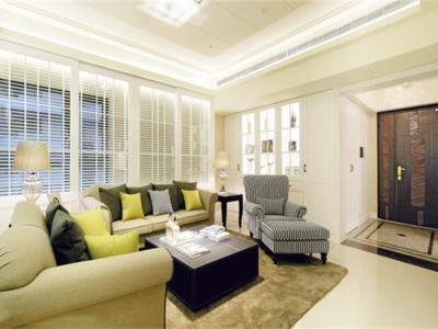 中式古典-136.79平米四居室装修样板间