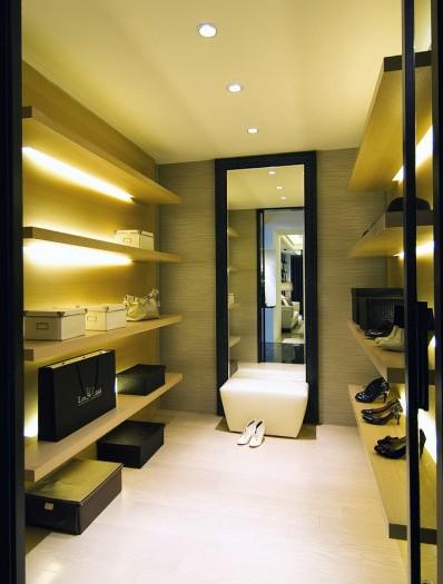 现代简约-144平米三居室-装修样板间