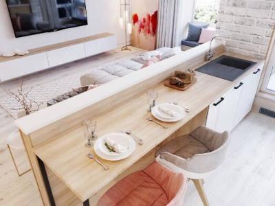 现代简约-75平米二居室装修设计