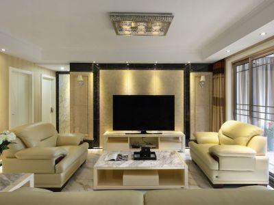 现代简约-139平米四居室装修样板间