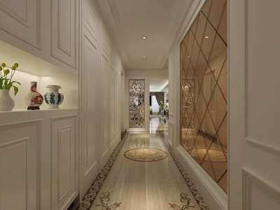 新古典风格-141平米四居室装修样板间