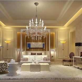 欧美风情三居室卧室装修效果图