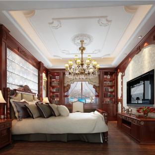 简欧风格四居室卧室装修效果图