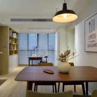 北欧风格二居室装修效果图