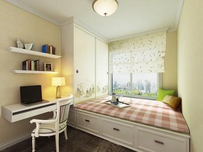 欧美风情-108平米三居室装修样板间