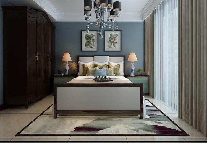 简欧风格-217平米四居室-装修设计