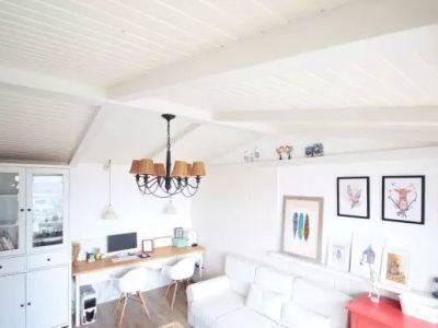 北欧风格-38.02平米一居室装修样板间