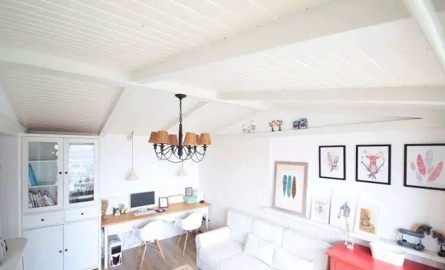 北欧风格-38.02平米一居室-装修样板间