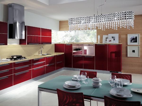 宇曼整体橱柜定制厨柜定做厨房UV漆3米套餐现代简约石英石台