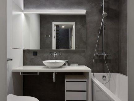 简约风格清爽小户型卫生间效果图