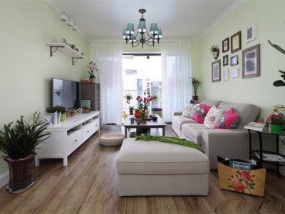 田园风格-111平米三居室装修样板间