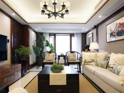 中式古典-114.53平米三居室装修样板间