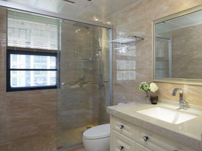 现代简约-118平米三居室-装修样板间