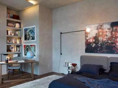 LOFT风格-47.1平米一居室装修样板间