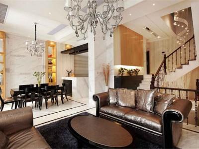 美式风格-160平米四居室装修样板间
