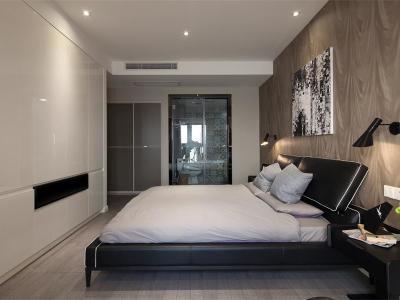 混搭风格-113平米三居室装修样板间