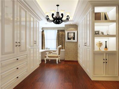 简欧风格-129平米三居室装修样板间