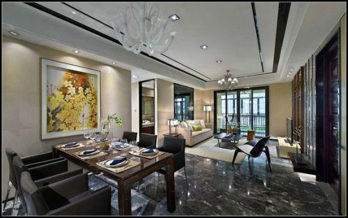 万科御澜道-新中式风格-三居室图片