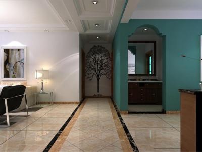 混搭风格-108平米二居室装修样板间
