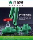 伟星家用绿色PP-R水管图片