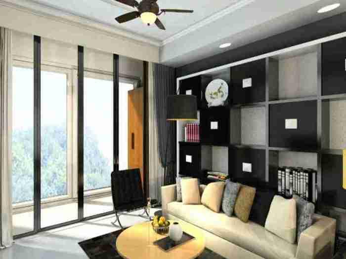 现代简约-125.21平米三居室-装修样板间