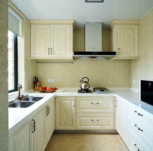 田园风格-128平米三居室-装修样板间