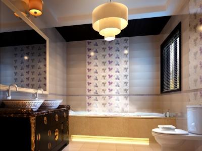 中式风格-900平米六居室以上装修样板间