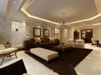 中式古典-150平米四居室装修样板间
