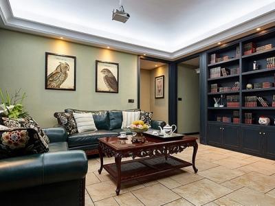 欧美风情-99.71平米二居室装修样板间