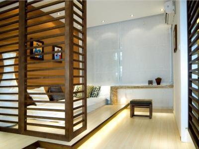 新古典风格-87平米二居室装修样板间