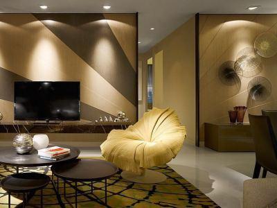 现代简约-58平米二居室装修样板间
