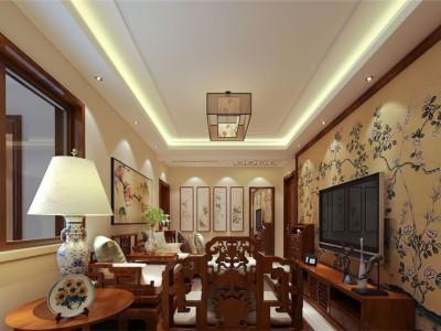 新古典风格-95平米二居室装修设计