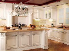 诺米橱柜 实木 欧式风格白象实木