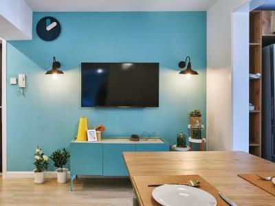 田园风格-101平米三居室装修样板间