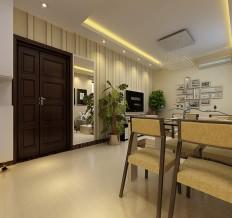 升龙城98平方三室两厅现代简约风案例赏析