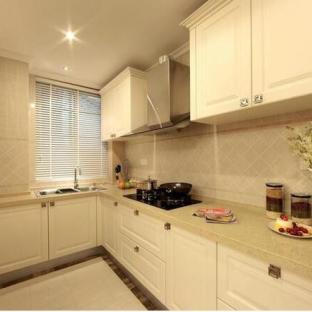 田园风格三居室厨房装修效果图