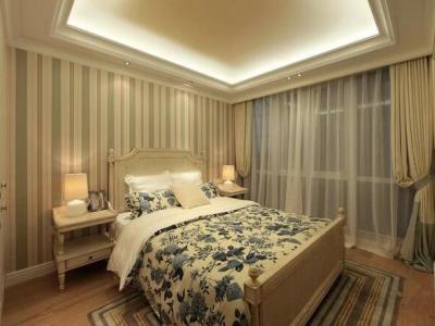 田园风格-99.84平米三居室装修样板间