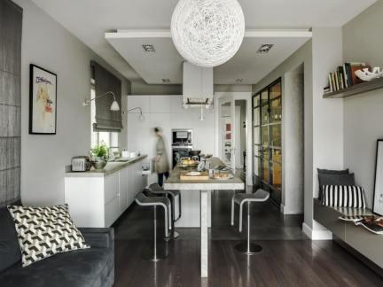 气质小户型现代风格餐厅装修设计