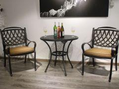 馨宁居铸铝家具庭院阳台铸铝小圆桌景观园林庭院桌椅
