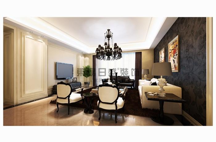 西式古典-168平米三居室-装修样板间