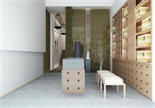 现代简约-89.92平米二居室装修样板间
