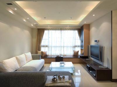 日韩风格-164平米四居室装修样板间