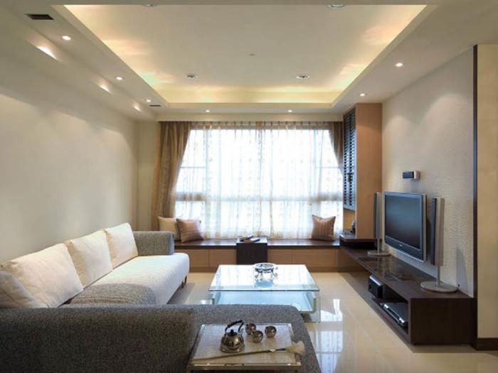日韩风格-164平米四居室-装修样板间