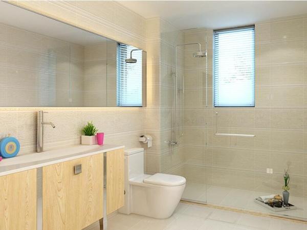 依诺瓷砖 墙砖卫生间防滑地砖洗手间地板砖简约厨房磁砖 木纹黄