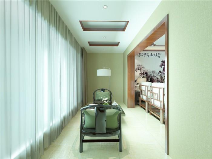 新中式-184平米四居室-装修样板间