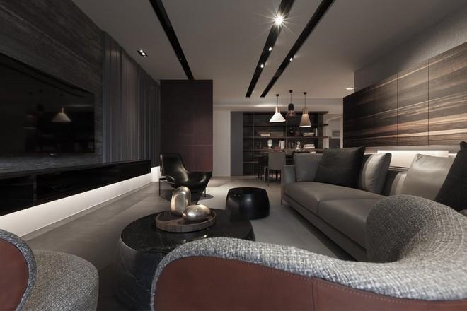 工业风格-116平米三居室-装修样板间