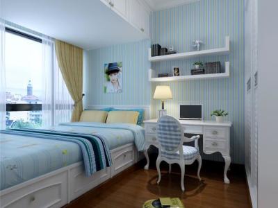 简欧风格-150平米四居室装修样板间