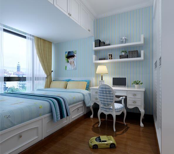 简欧风格-150平米四居室-装修样板间