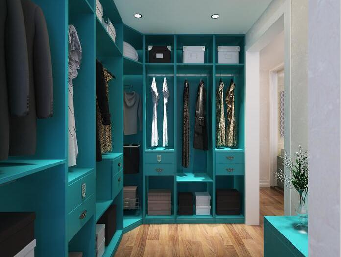 简美风格-148平米四居室-装修样板间